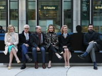 Mad Men Bench unveiling
