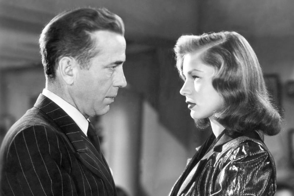 1946-Lauren-Bacall-and-Humphrey-Bogart-CBS