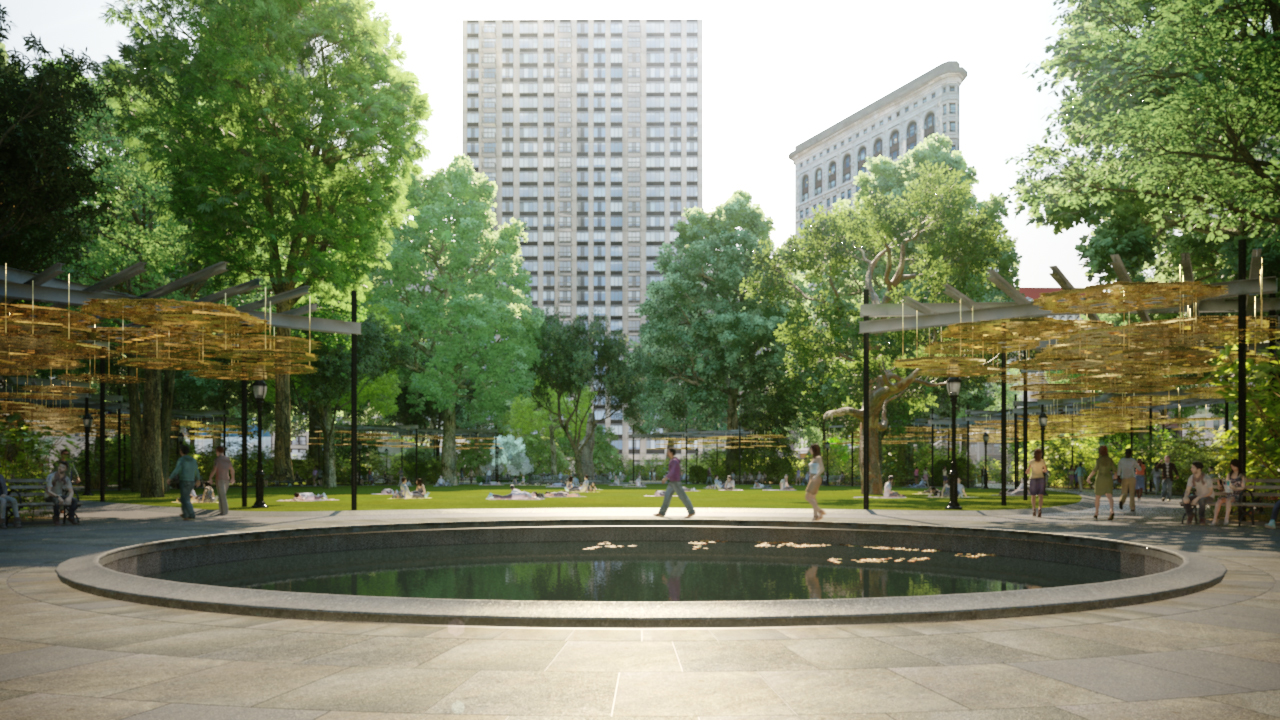 Teresita Fernandes Madison Square Park2