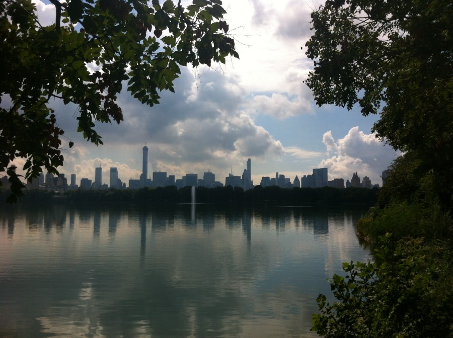 Central Park Reservoir Ellie Seymour