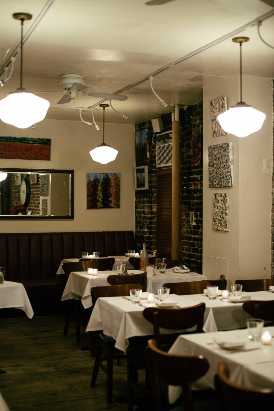 Cornelia Street Cafe inside bekka palmer