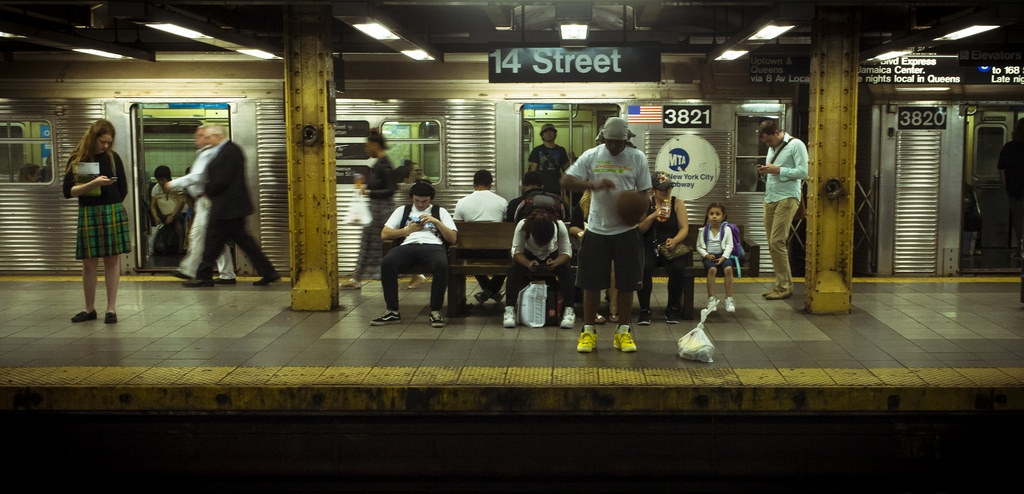 new york city subway 14th street