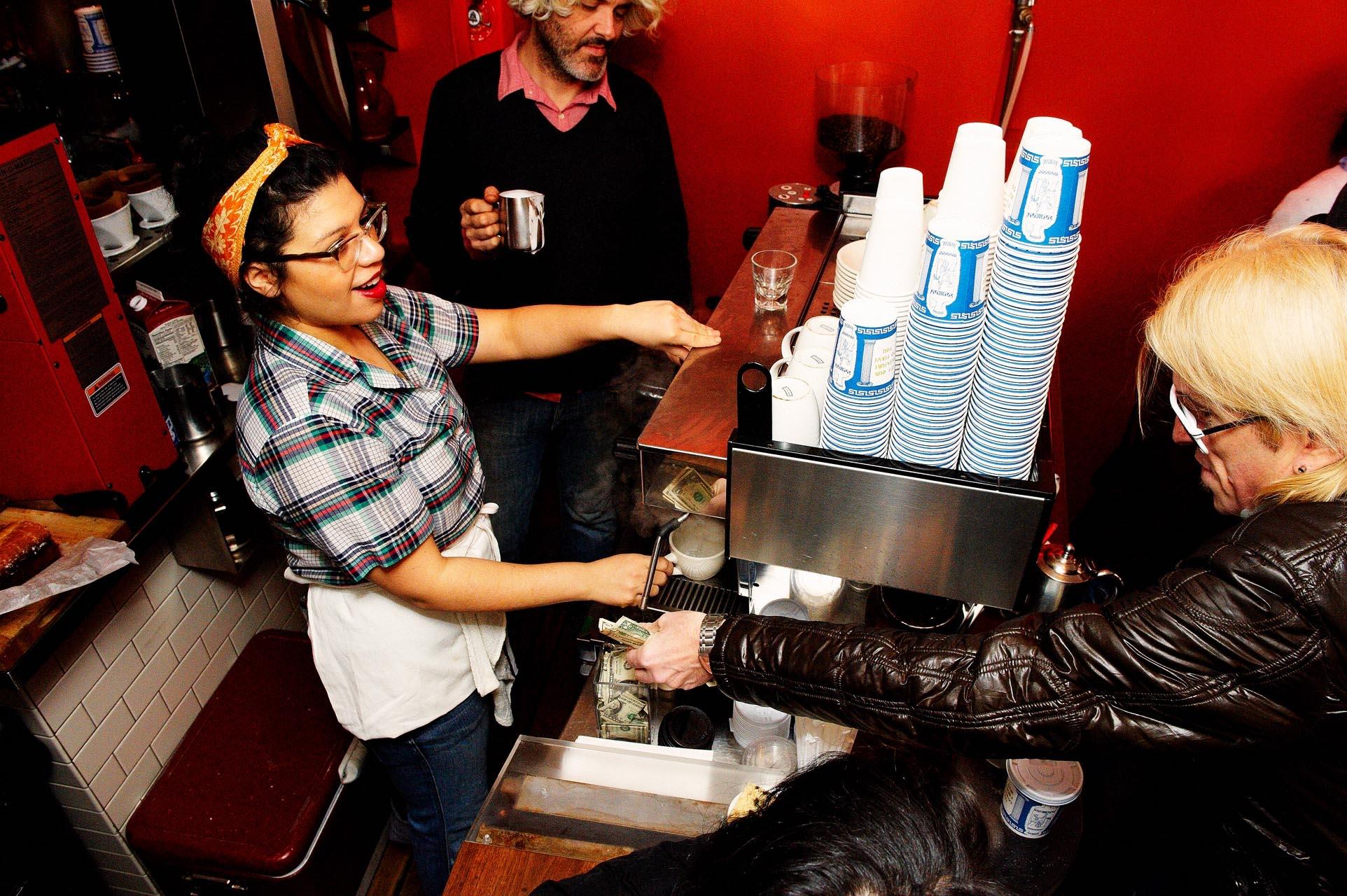 Abraco nyc inside barista