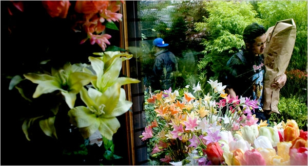 NY flower district NY Times