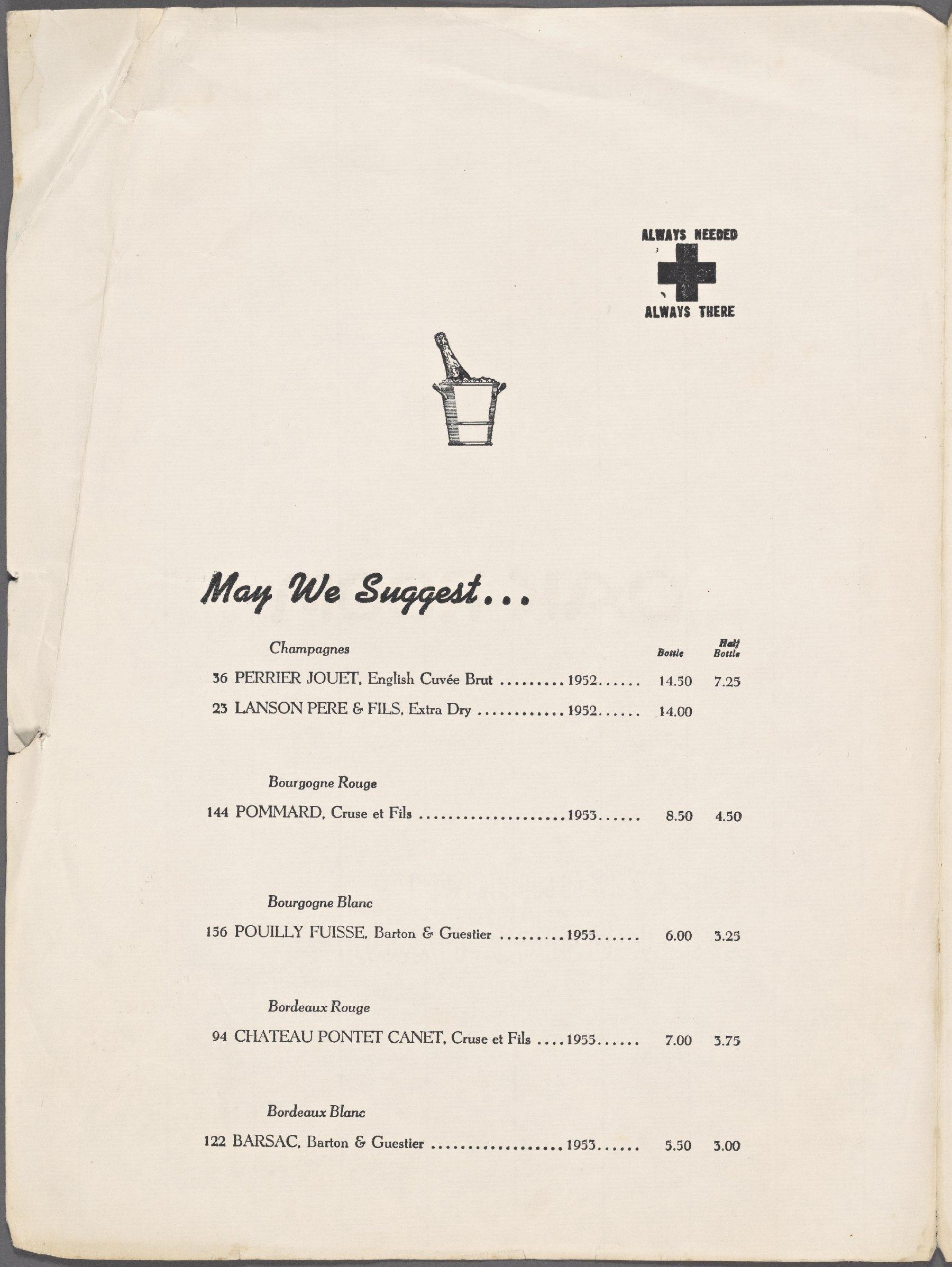 plaza menu 1z