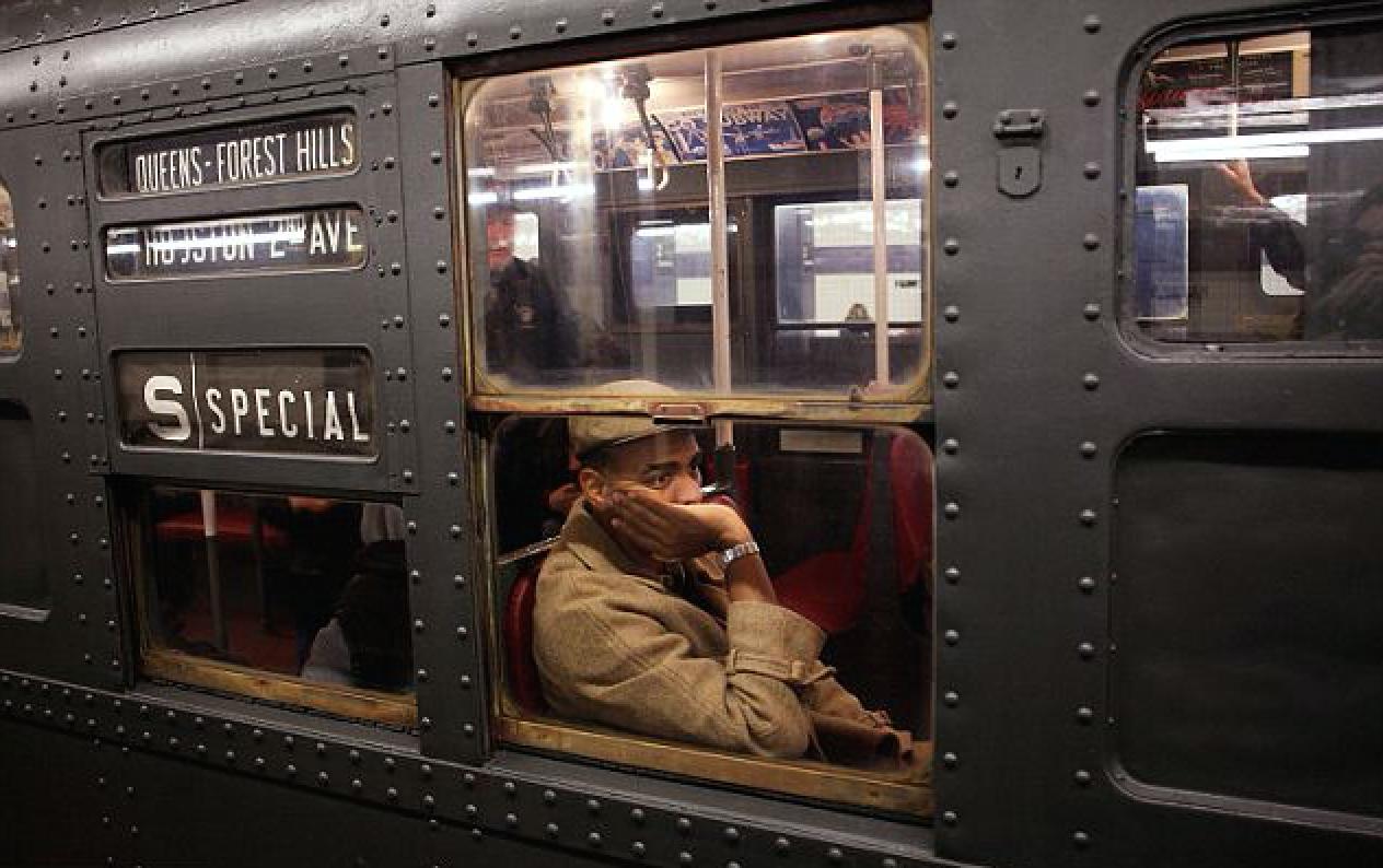 NYC nostalgia train