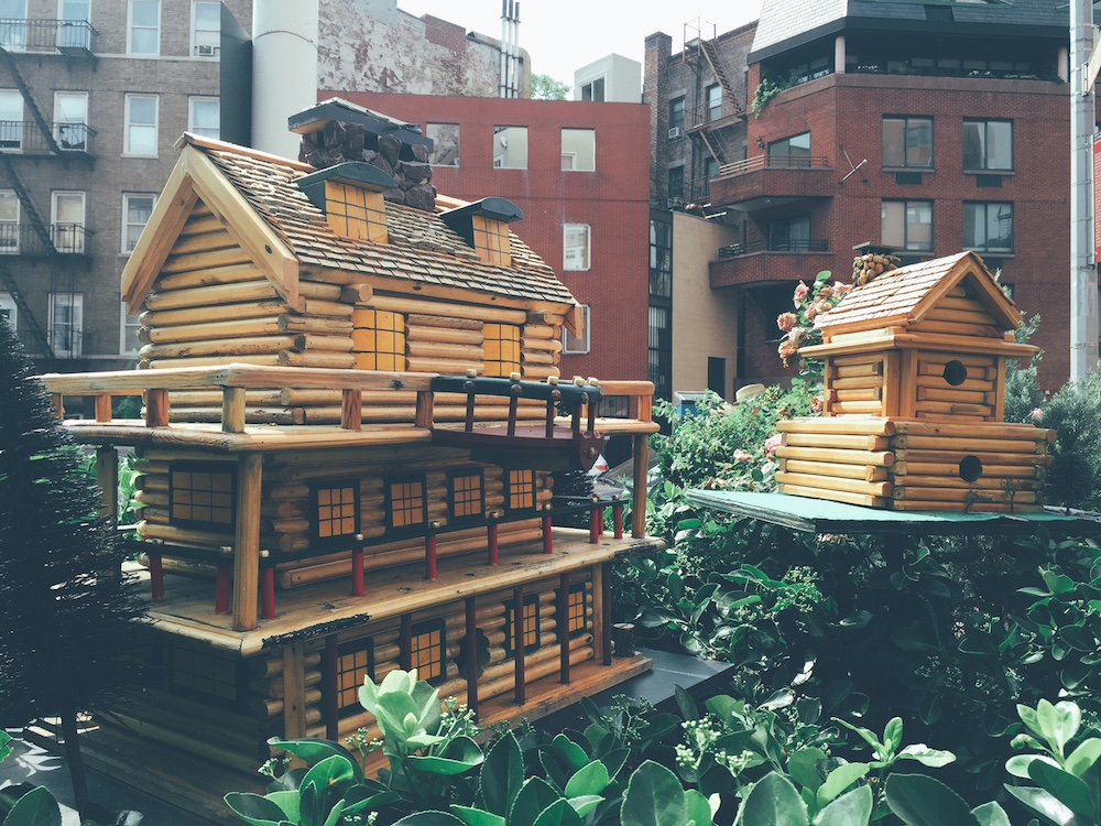 bird houses west village new york city