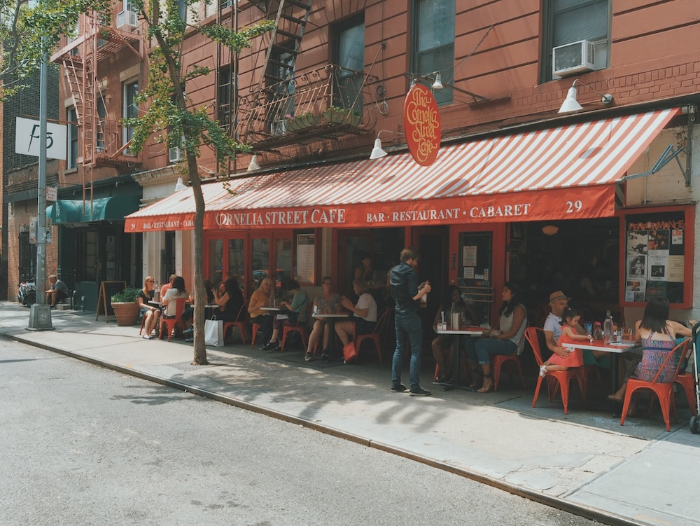 Cornelia Street Cafe New York