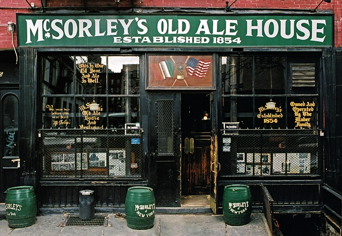 McSorleys Ale House New York Store Front