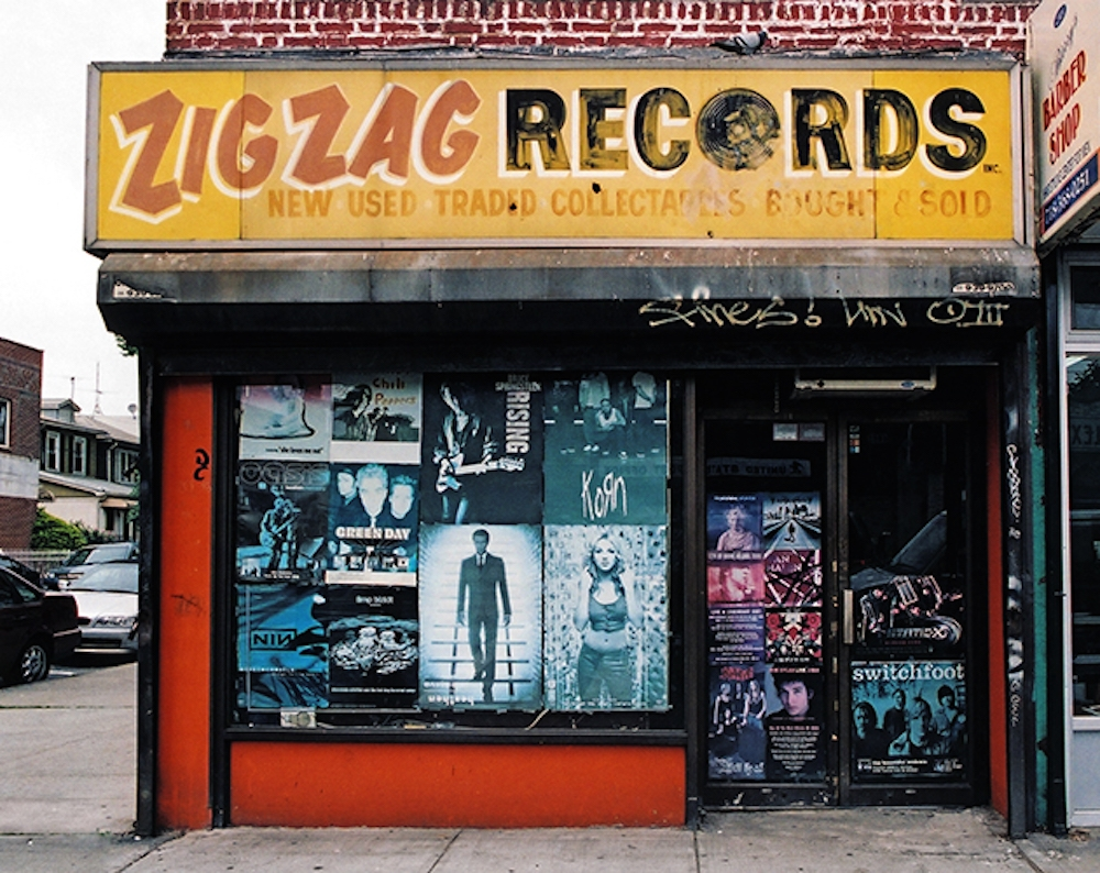zig zag records new york store front
