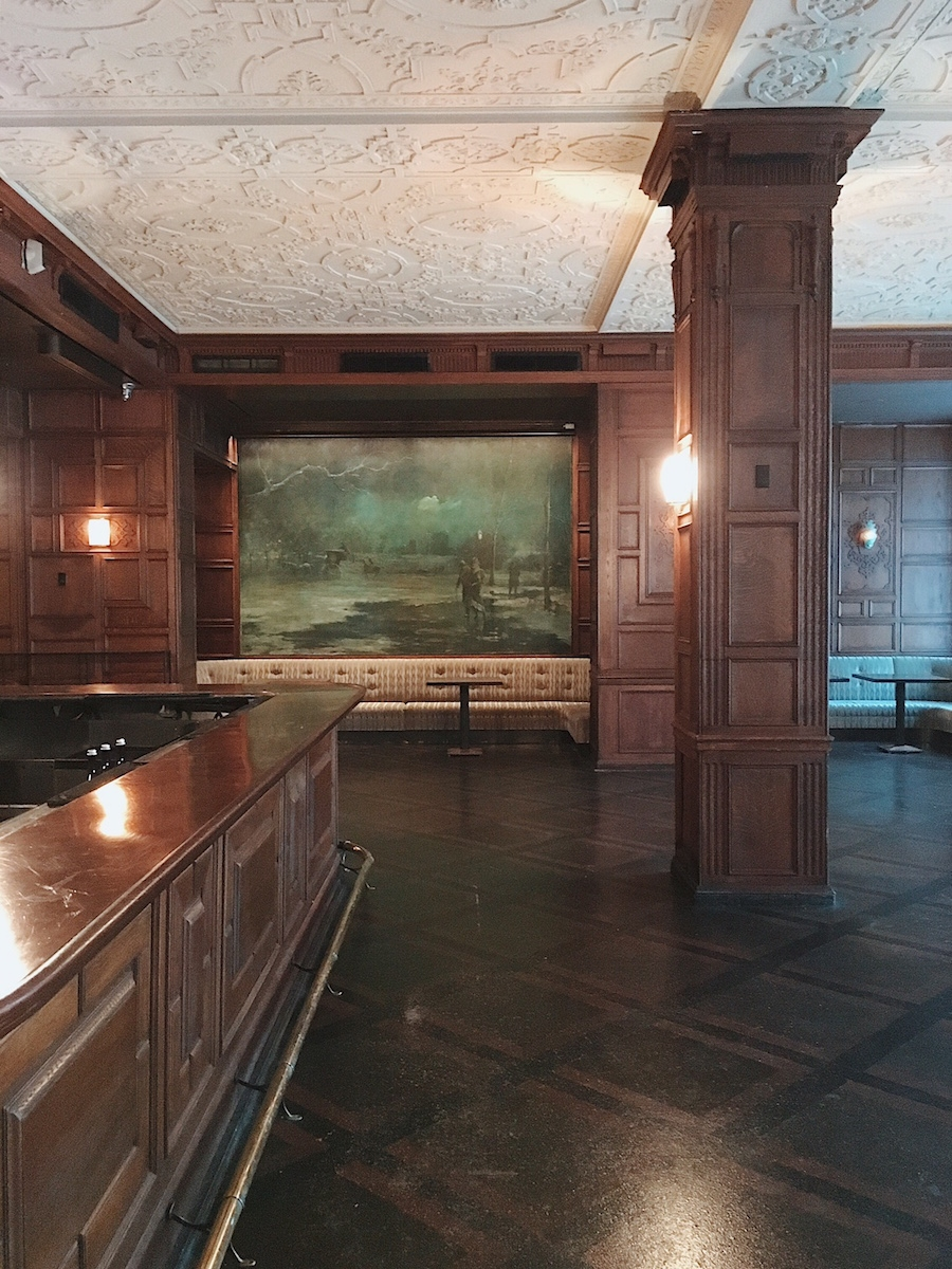 bar murals oak room the plaza