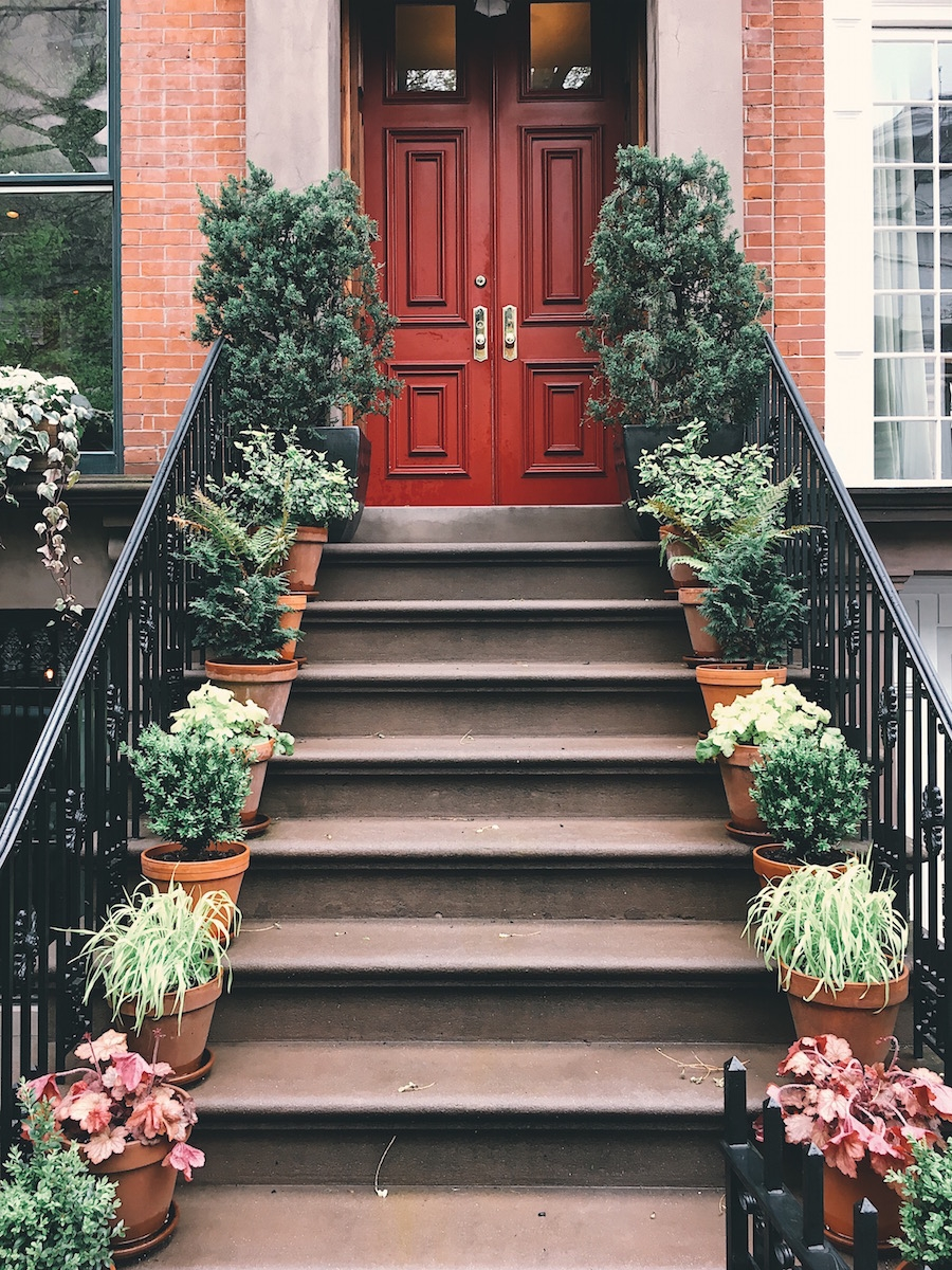 west village stoop new york ellie seymour