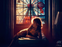 woody allen wonder wheel movie poster