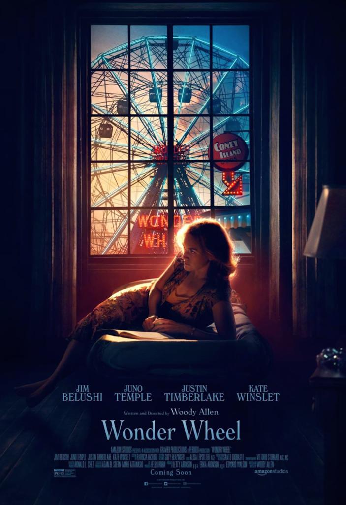 woody allen wonder wheel movie poster