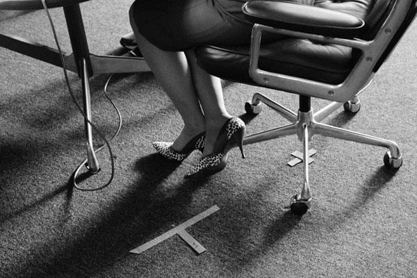 Christina Hendricks shoes Mad Men set