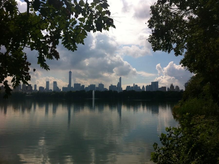 Central Park Reservoir Ellie Seymour