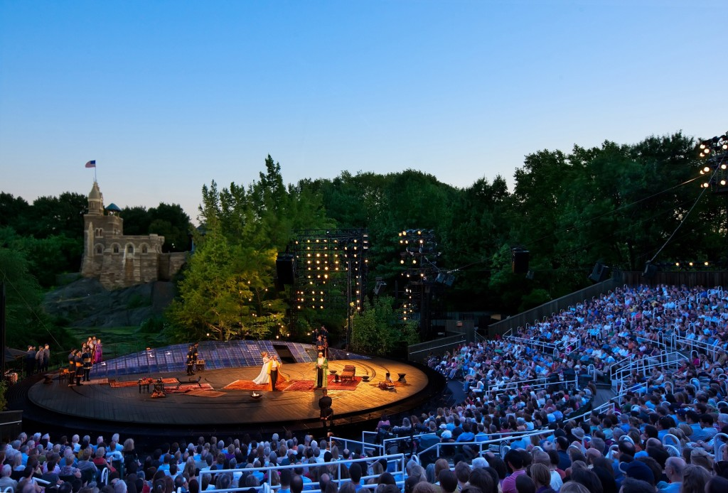 Shakespeare in the Park Delacorte Theatre