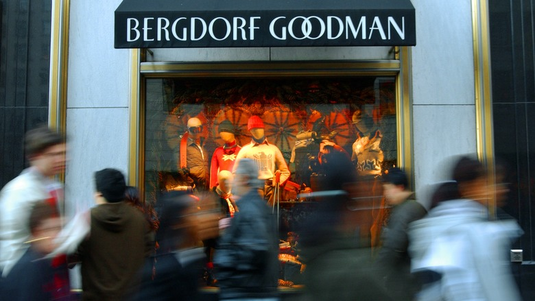 Bergdorf Goodman outside New York City