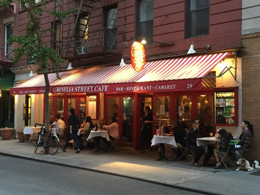 Cornelia Street Cafe outside view