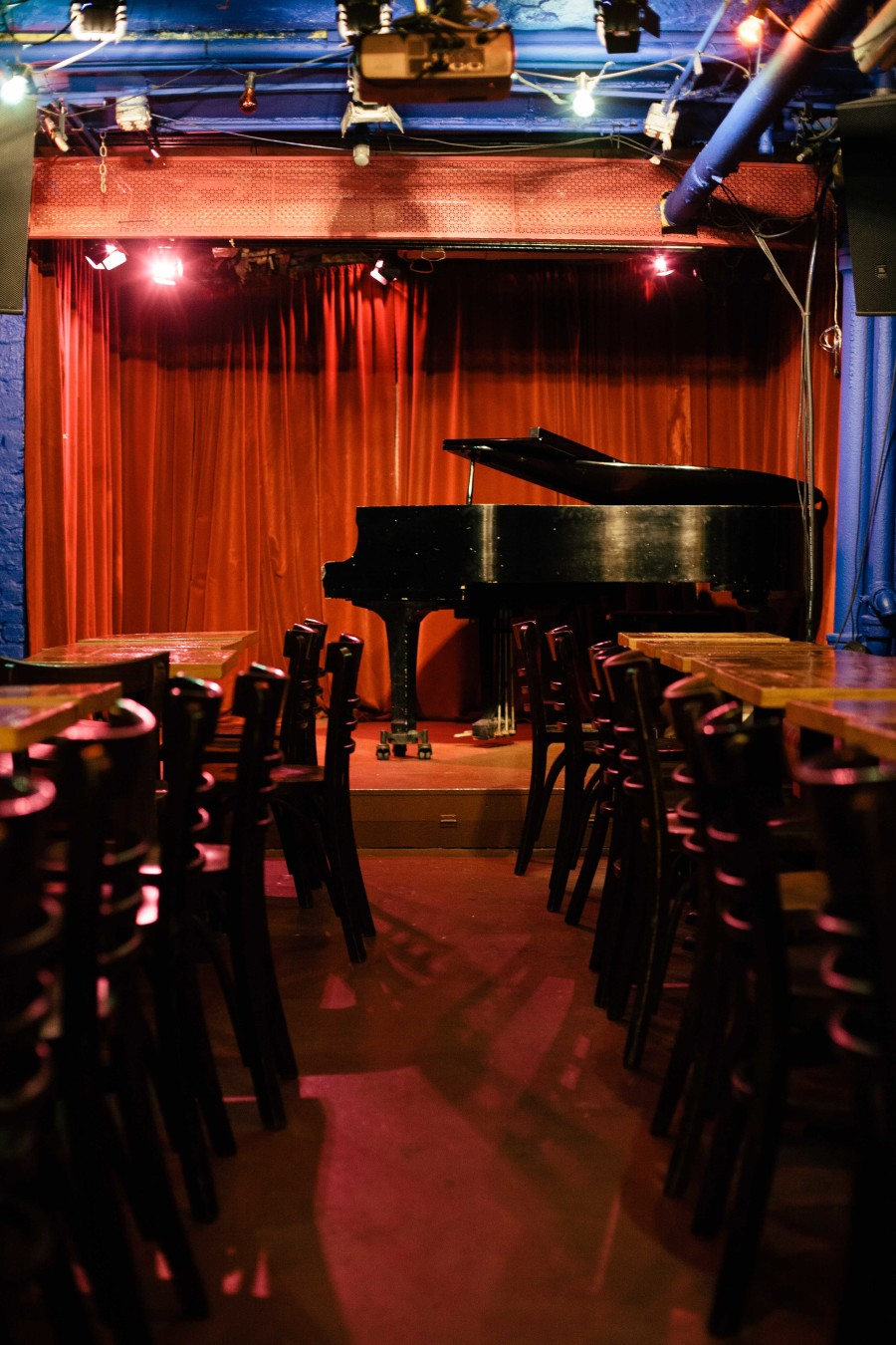 Cornelia Street cafe performance space