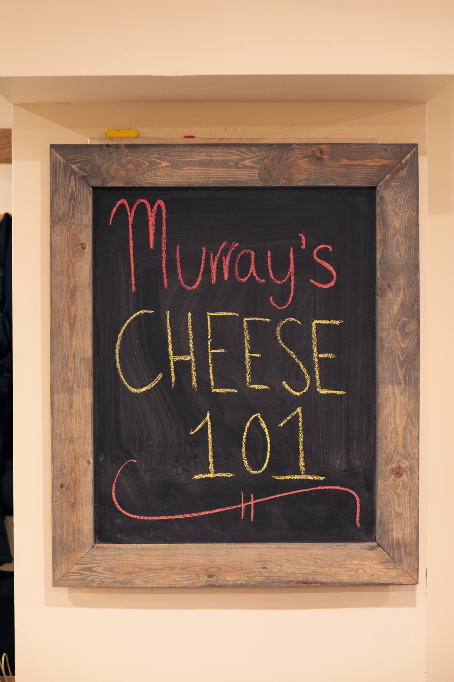 murray's cheese tasting bleeker street new york city