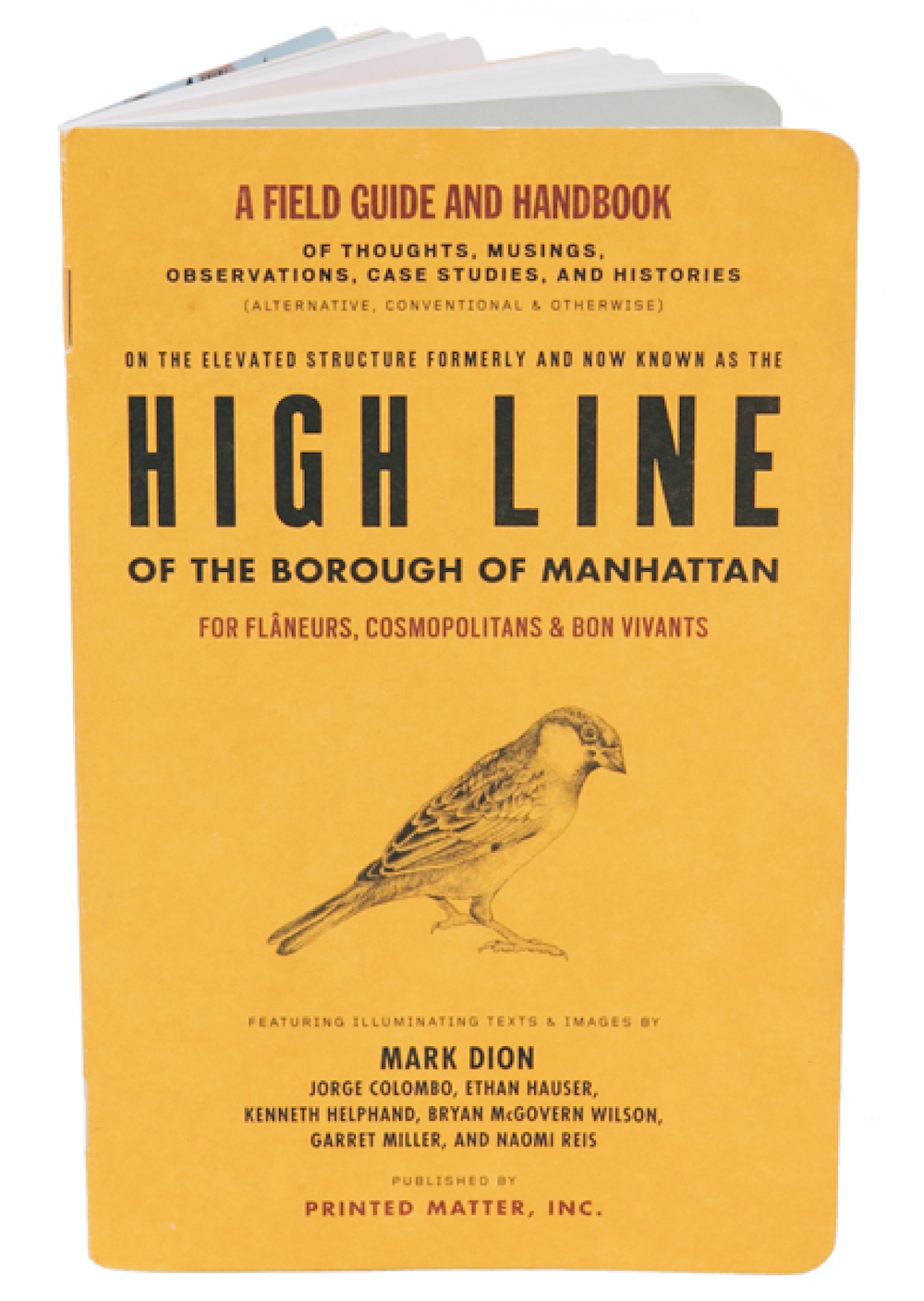 the high line field guide pocket guide