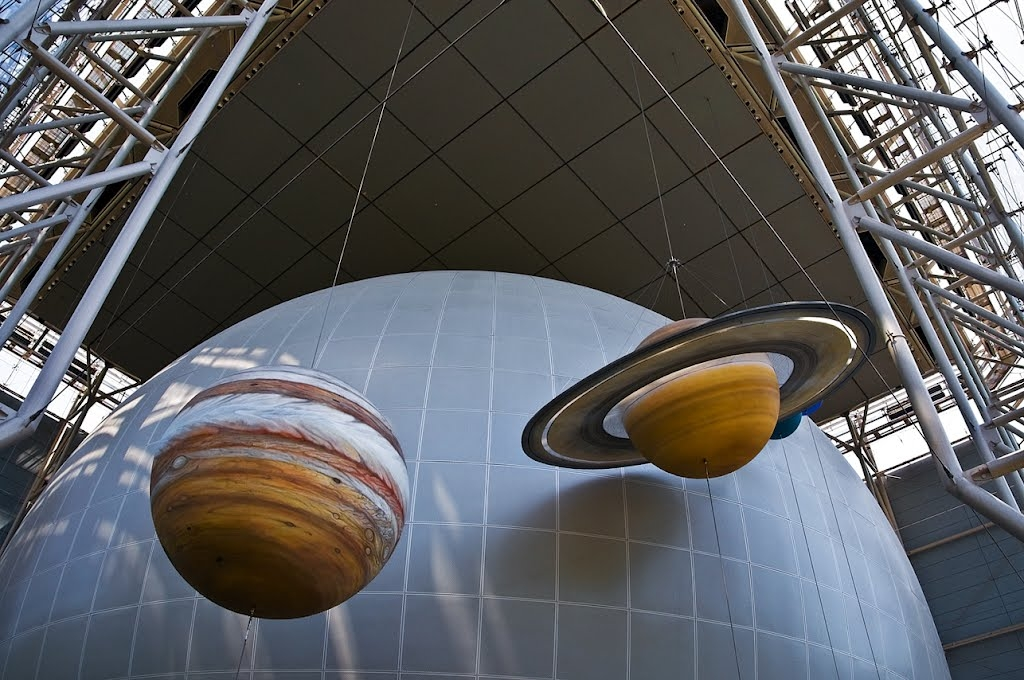 hayden planetarium sculptures