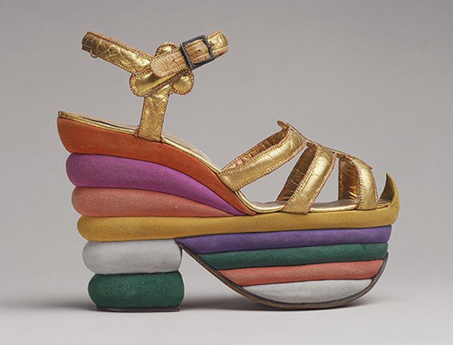 Ferragamo shoe The Met