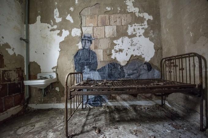 ghosts of ellis island bed