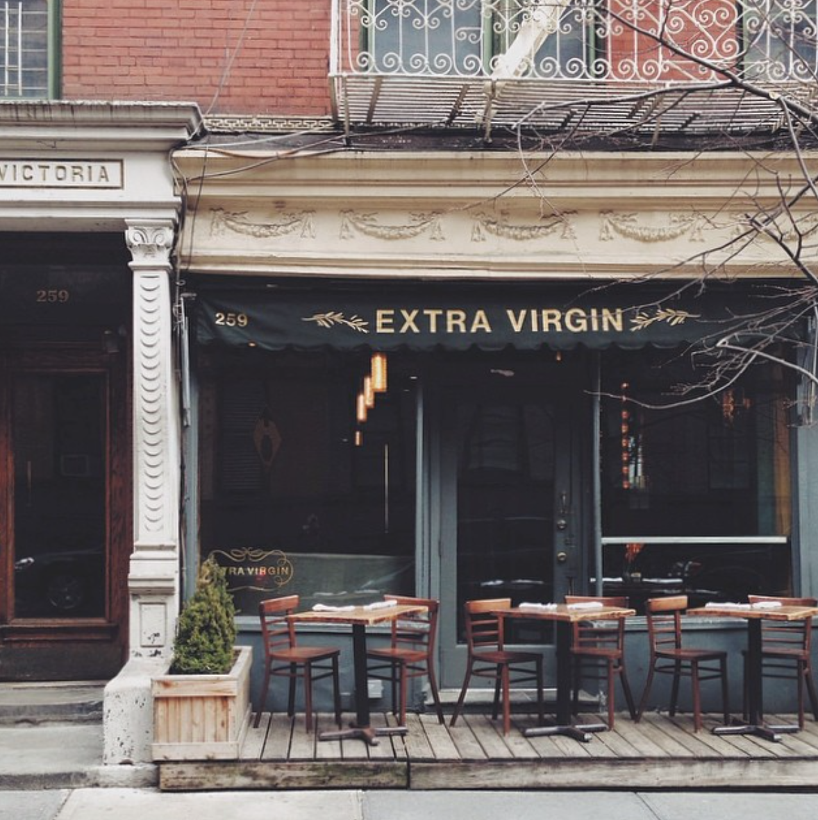 Extra Virgin West Village Life