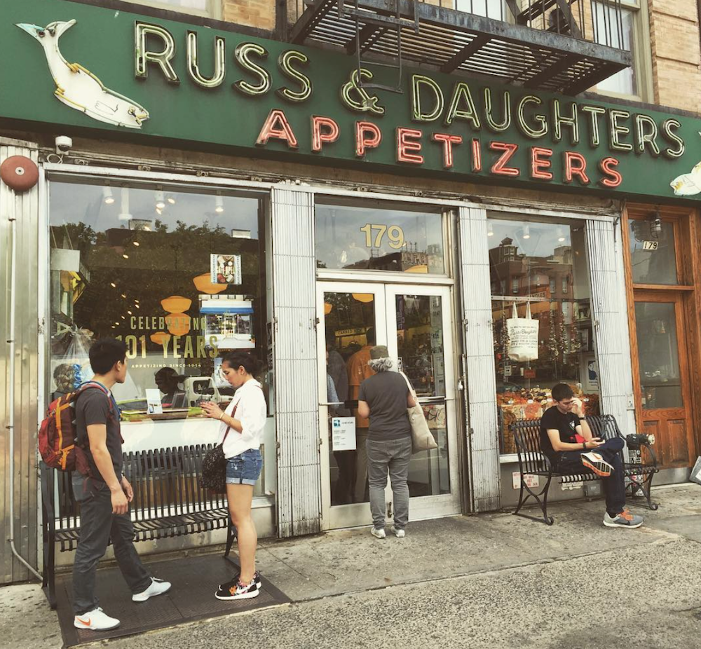 Russ & Daughters Ellie Seymour