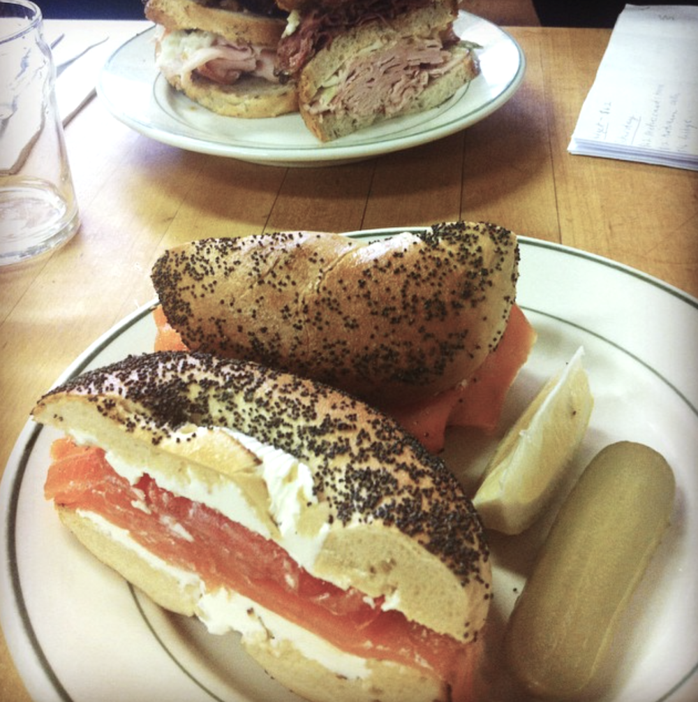 Barney Greengrass bagels