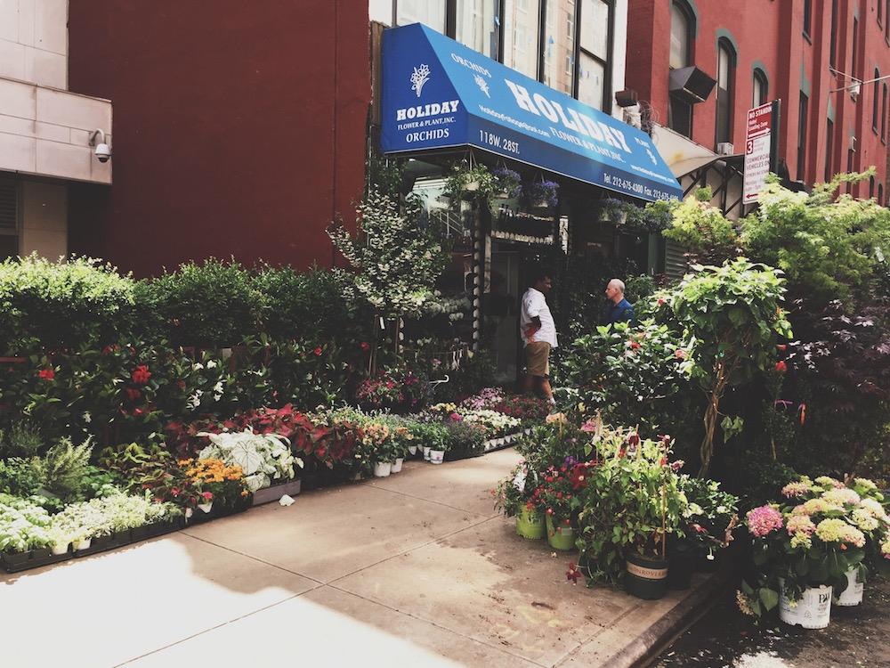 flower district new york midtown niece