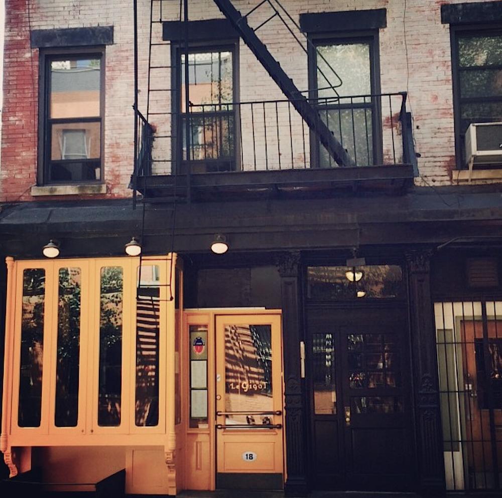 Le Gigot Cornelia street New York