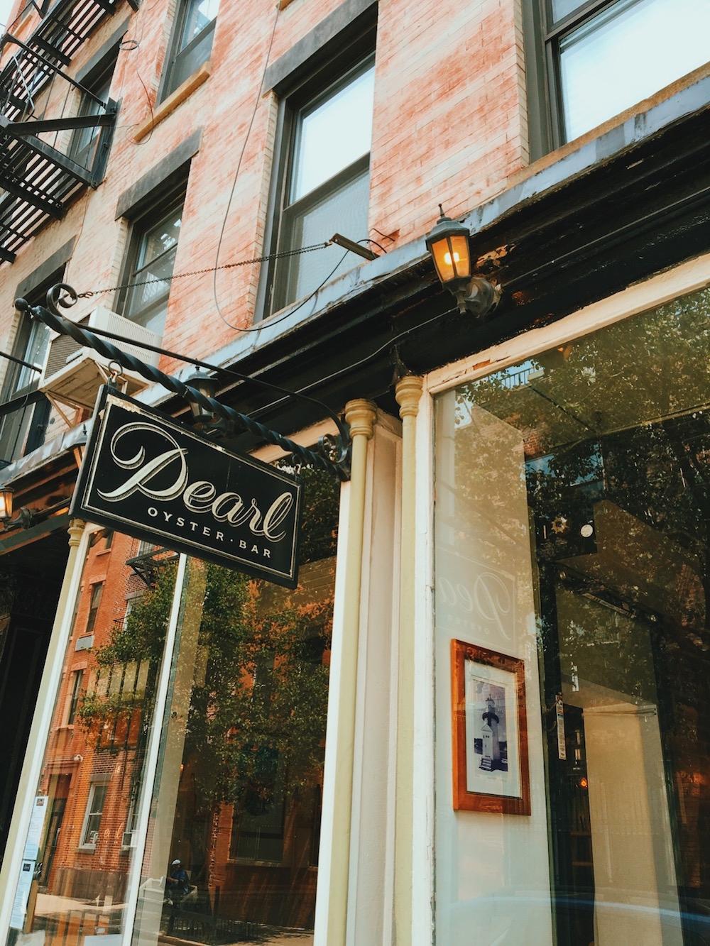 Pearl Oyster Bar Cornelia Street