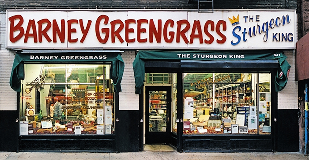 Barney Greengrass new york store front