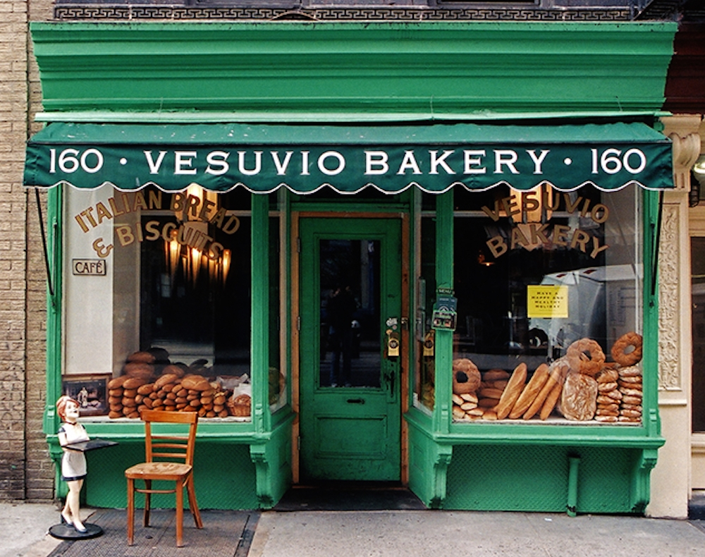 vesuvio bakery new york store front