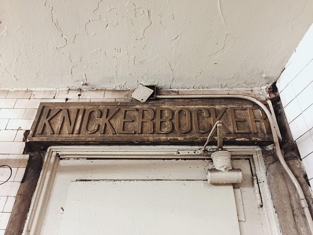 secret door knickerbocker hotel new york times square
