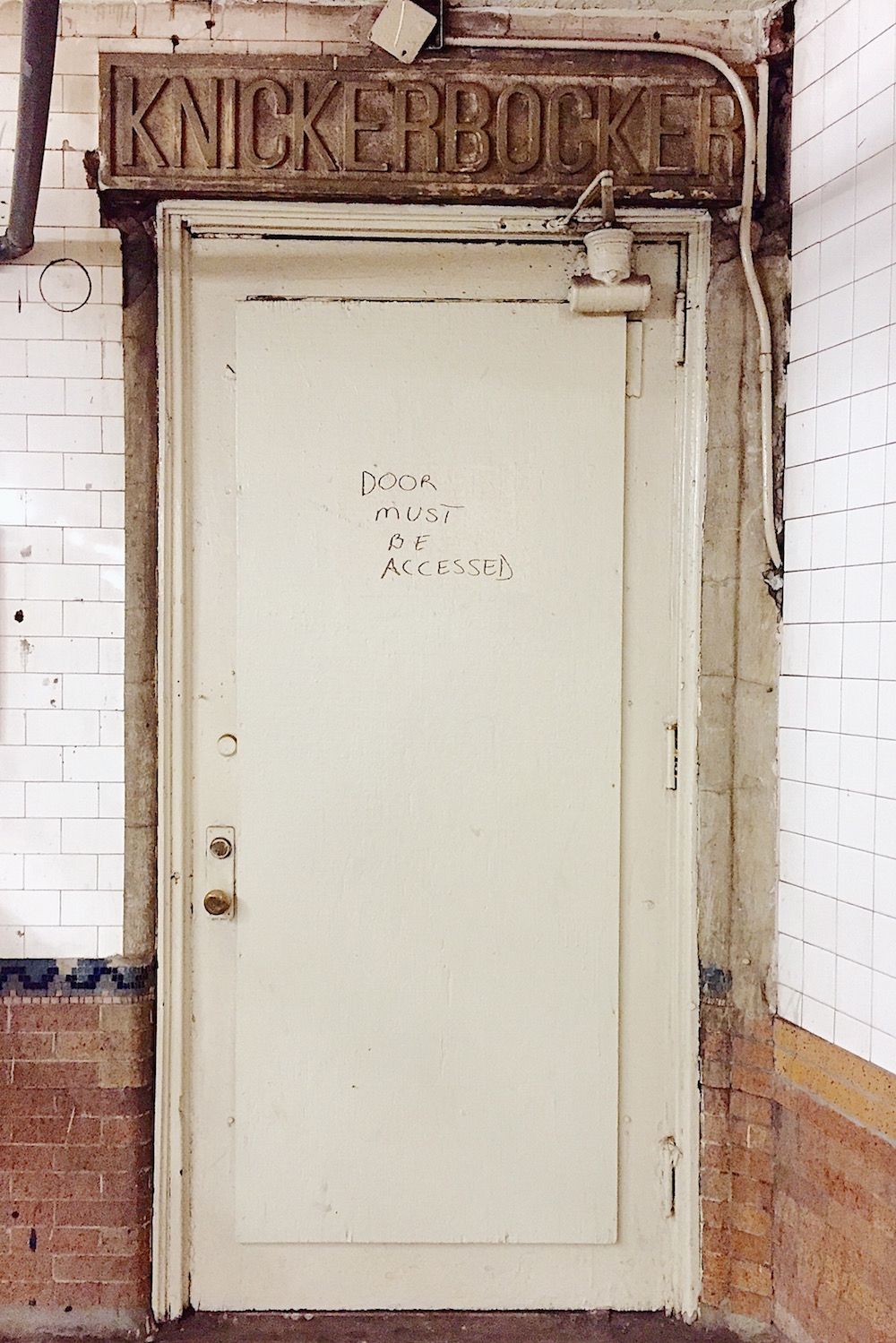 forgotten doorway knickerbocker hotel times square