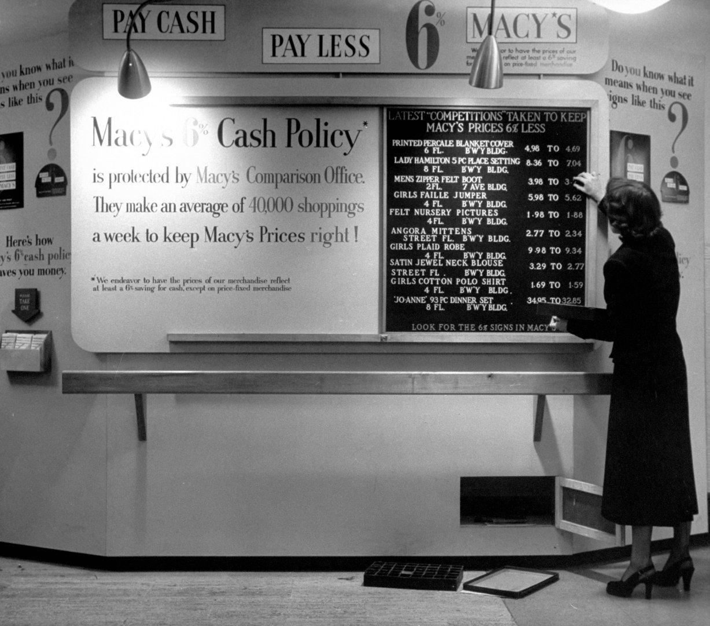 black friday at macy's 1948