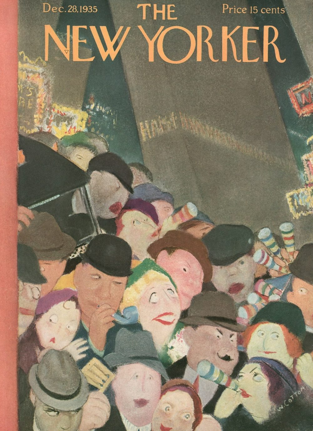 new yorker magazine new year covers