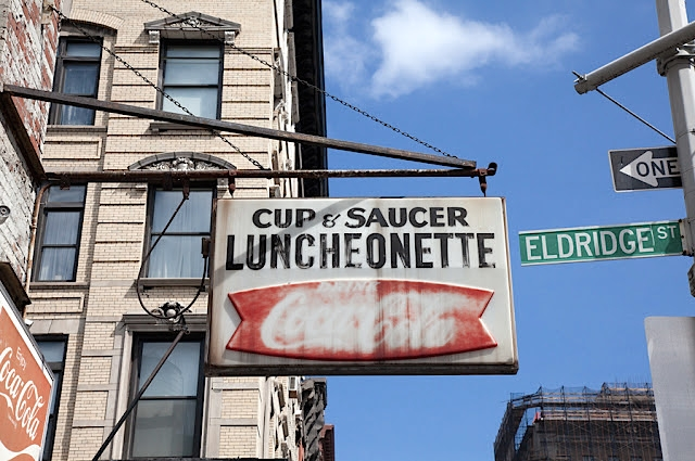 cup and saucer luncheonette lower east side
